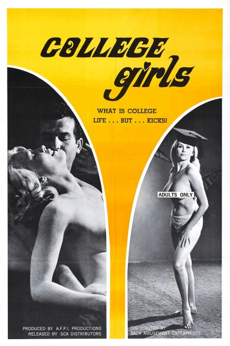 College Girls (1968) cover