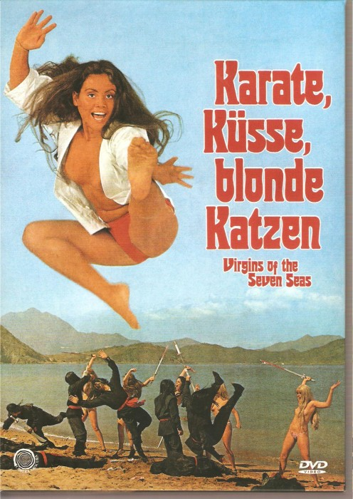 Karate, Kusse, blonde Katzen! (1974) cover