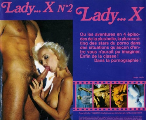 Lady X 2: Lady Winter et la CIA (1985) cover