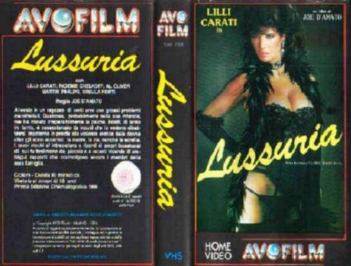 Lussuria (1986) cover