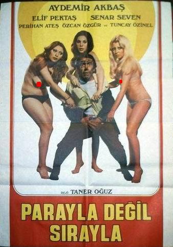 Parayla Degil Sirayla (1975) cover