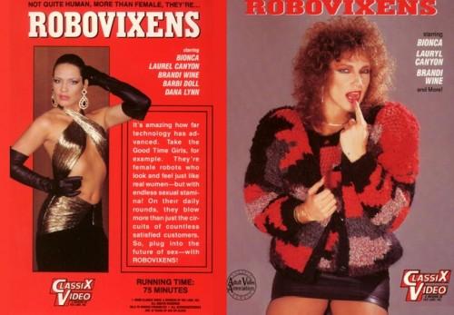 Robovixens (1988) cover