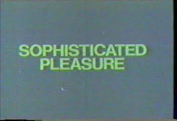 Sophisticated Pleasure (1984) cover