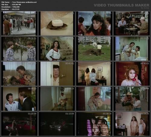 Tres Mexicanos ardientes (1986) screencaps