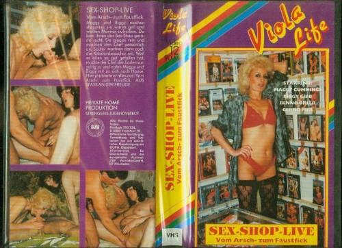 Viola Life 12 Sex-Shop-Live Vom Arsch-zum Faustfick (1990) cover