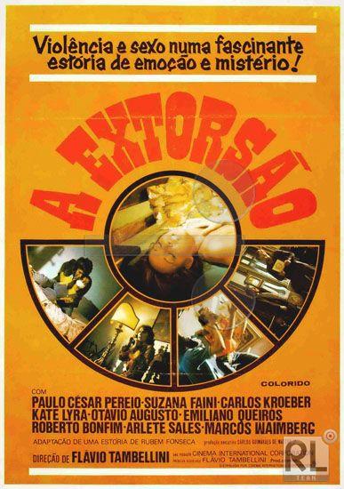 A Extorsao (1975) cover