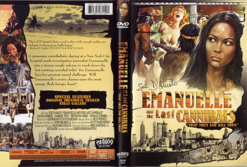 Emanuelle and the Last Cannibals (1977) cover
