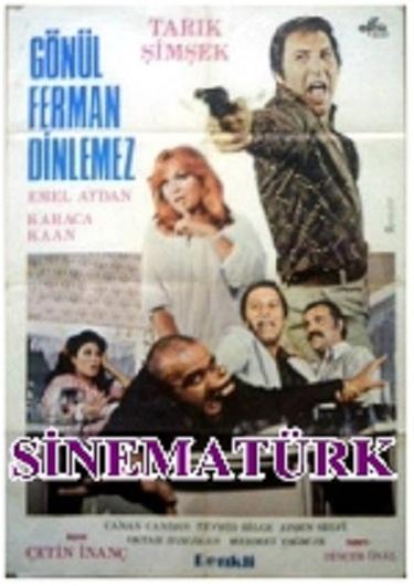 Gonul Ferman Dinlemez (1977) cover