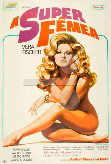 A super femea (1973) cover