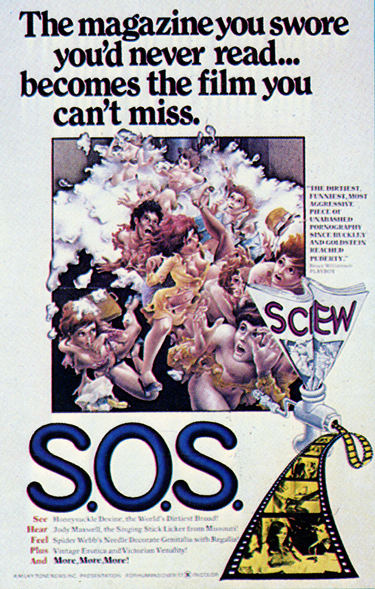 Screw On Screen (1975) cover