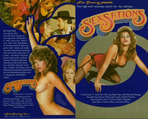 Sexsations (1984) cover