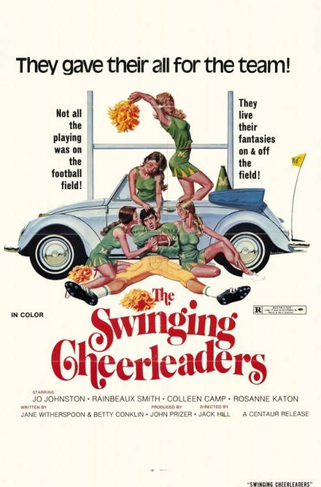 The Swinging Cheerleaders (1974) cover