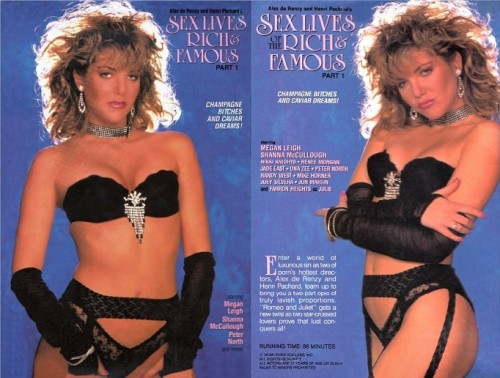 Sex Lives of the Rich and Famous 1 (1988) cover