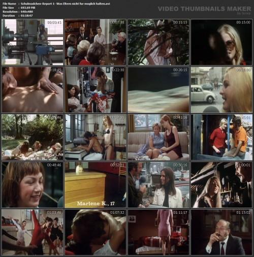 Schulmadchen-Report 1: Was Eltern nicht fur moglich halten (1970) screencaps