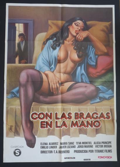 Con las bragas en la mano (1981) cover