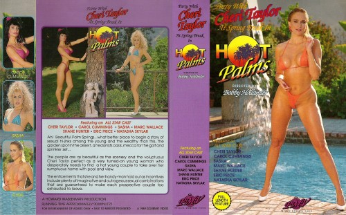 Hot Palms (1989) cover
