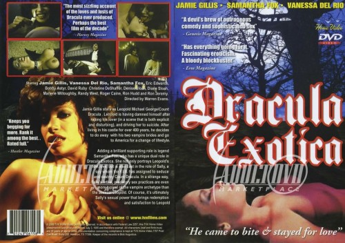 Dracula Exotica (1980) (DVD) cover
