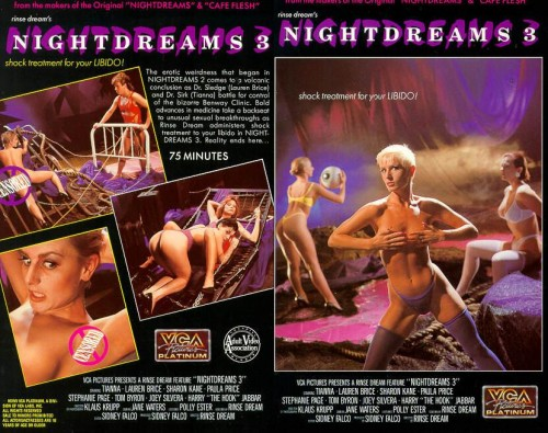 Nightdreams 3 (1990) cover