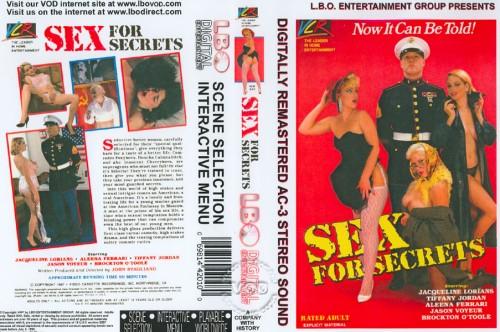Sex For Secrets (1987) cover