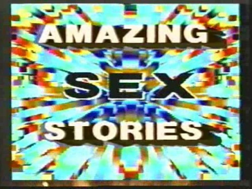 Amazing Sex Stories (1987) cover