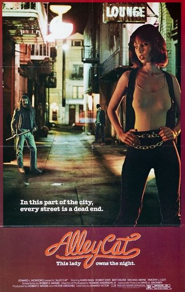 Alley Cat (1984) cover