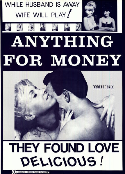 Anything for Money (1967) cover