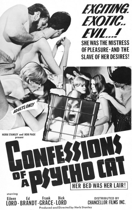 Confessions of a Psycho Cat (1968) cover