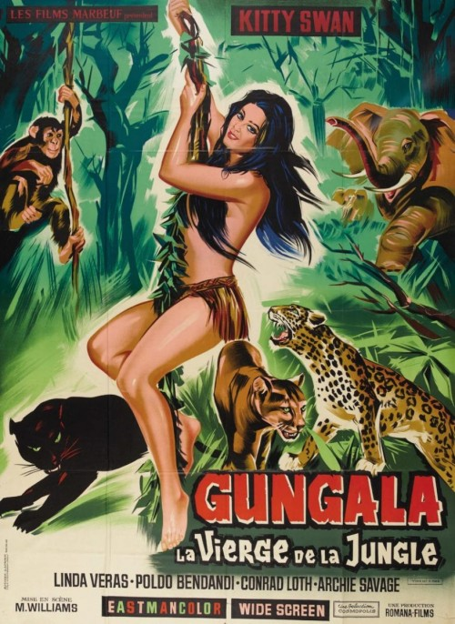 Gungala, the Virgin of the Jungle (1967) cover