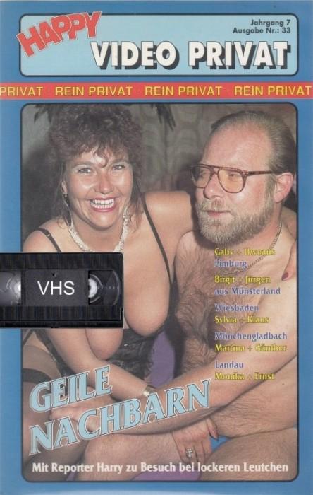 Happy Video Privat 33 - Geile Nachbarn (1990) cover