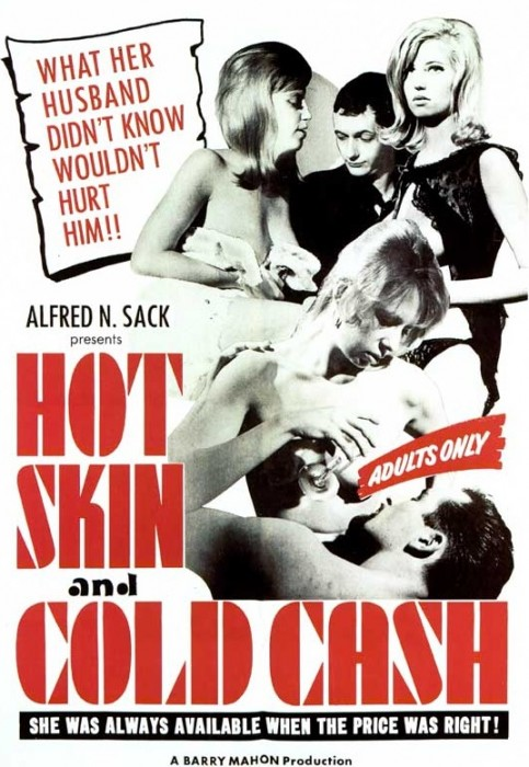 Hot Skin, Cold Cash (1965) cover