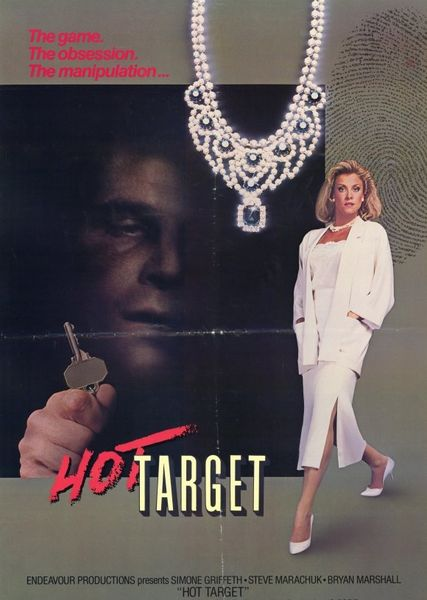 Hot Target (1985) cover