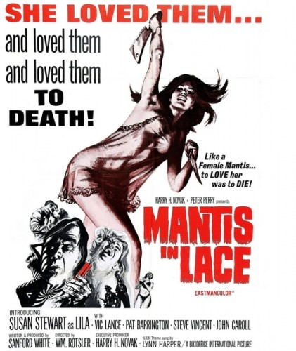 Mantis in Lace (1968) cover