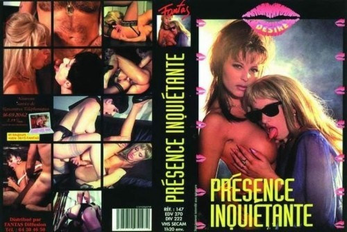 Presenze inquietanti (1990`s) cover