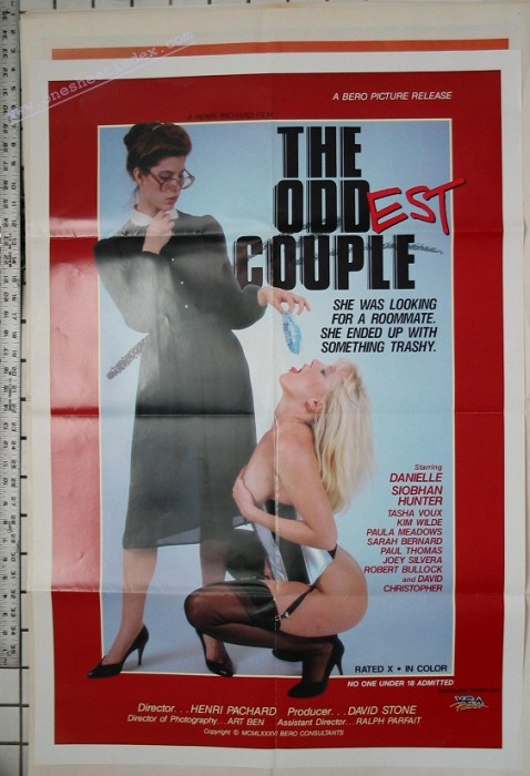 The Oddest Couple (1986) cover