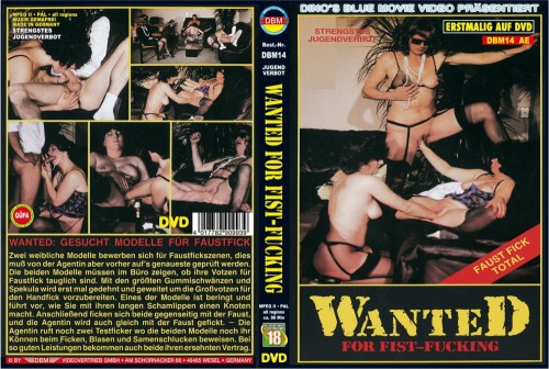 Wanted For Fist-Fucking (1987) cover