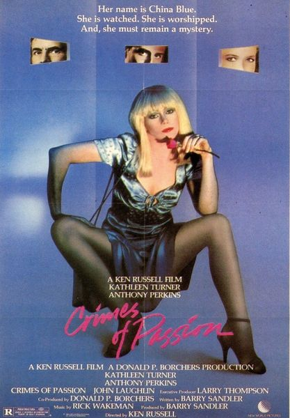 Crimes of Passion (1984) cover