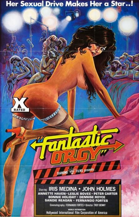 Fantastic Orgy (1977) cover