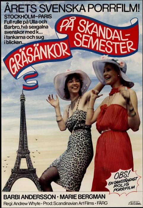 Grasankor pa skandalsemester (1978) cover