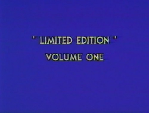 Limited Edition Vol 1 (1980) cover