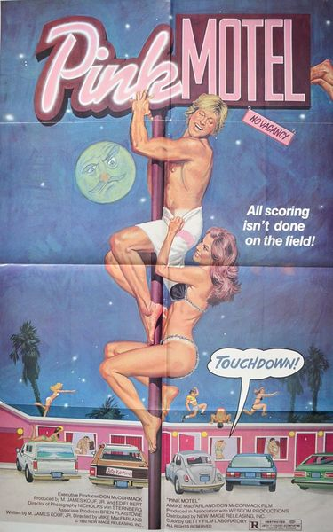 Pink Motel (1982) cover