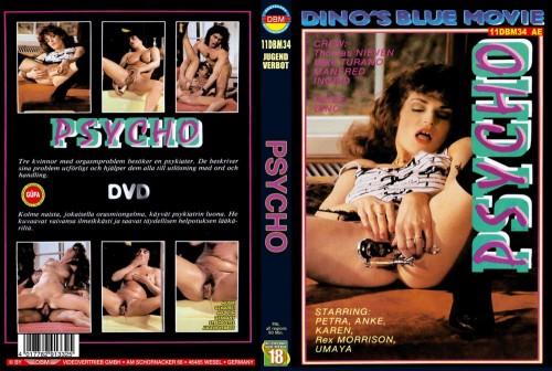 Psycho (1989) cover