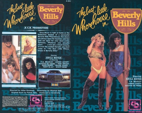 The Best Little WhoreHouse in Beverly Hills (1986) cover