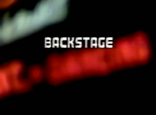 Backstage (1988) cover
