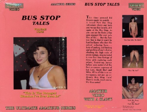 Bus Stop Tales 9 (1990) cover