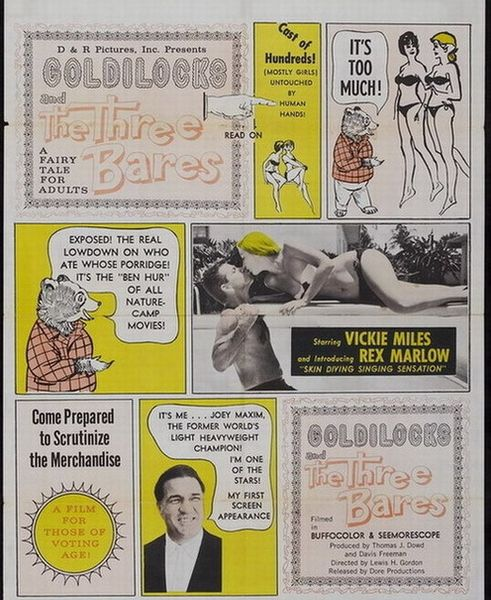 Goldilocks and the Three Bares (1963) cover