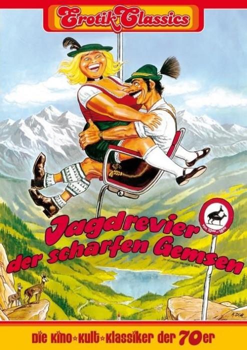 Jagdrevier der scharfen Gemsen (1975) cover