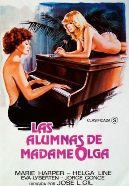 Las alumnas de madame Olga (1981) cover