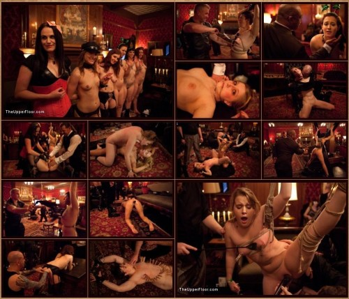 TheUpperFloor.com - Lilla Katt, Jessie Cox, Cheyenne Jewel, Iona Grace, Nicki Blue, Sparky Sin Claire (Six Slaves) cover