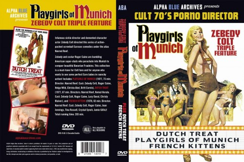 Playgirls Of Munich (1977) cover