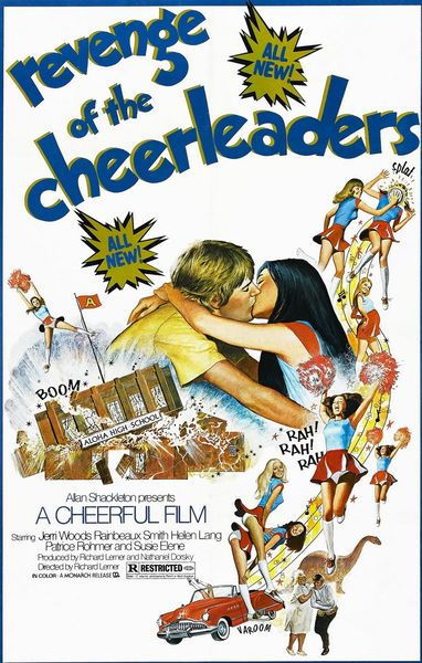 Revenge of the Cheerleaders (Better Quality) (1976) cover